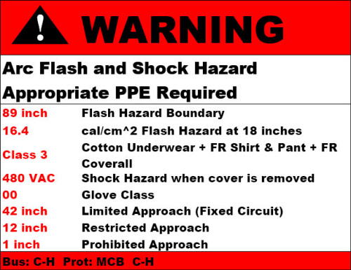 Arc Flash Labeling Milwaukee
