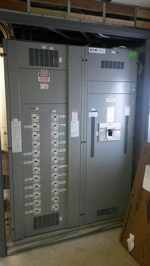 Commercial Electrician Updates Electrical Equipment in WI | Terminal ...