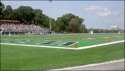 Football Field Wired by Milwaukee Electrical Engineers