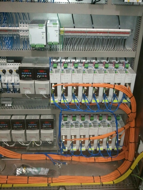 Industrial Automation Panel Build