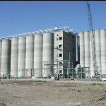 Malt Silos with Automated Controls under Construction