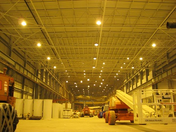 Large Scale Warehouse Lighting